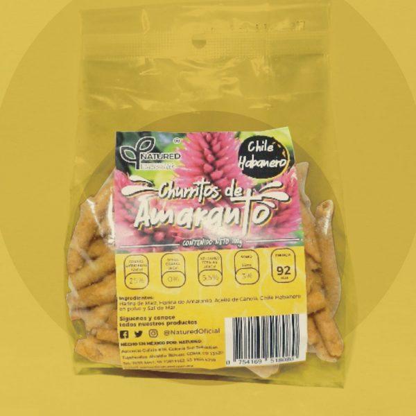 Churritos de Amaranto